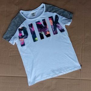 VS PINK shirt cute💟💟❤️❤️💟💟